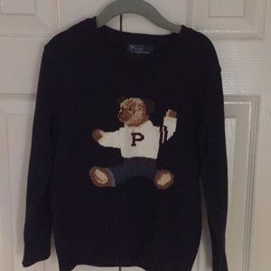Ralph Lauren Bear Sweater